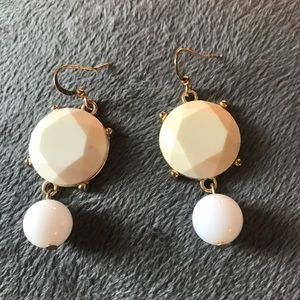 Jewelry - White and Cream Bubble Earrings